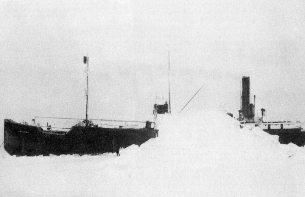 The SS Baychimo in 1931. Image: Public Domain.
