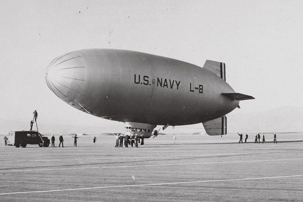 l-8 Blimp. Image: National Archives.