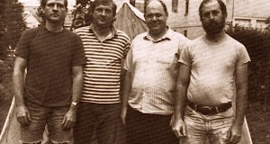 L-R are Jim Weiner, Jack Weiner, Charlie Fotz and Chuck Rak