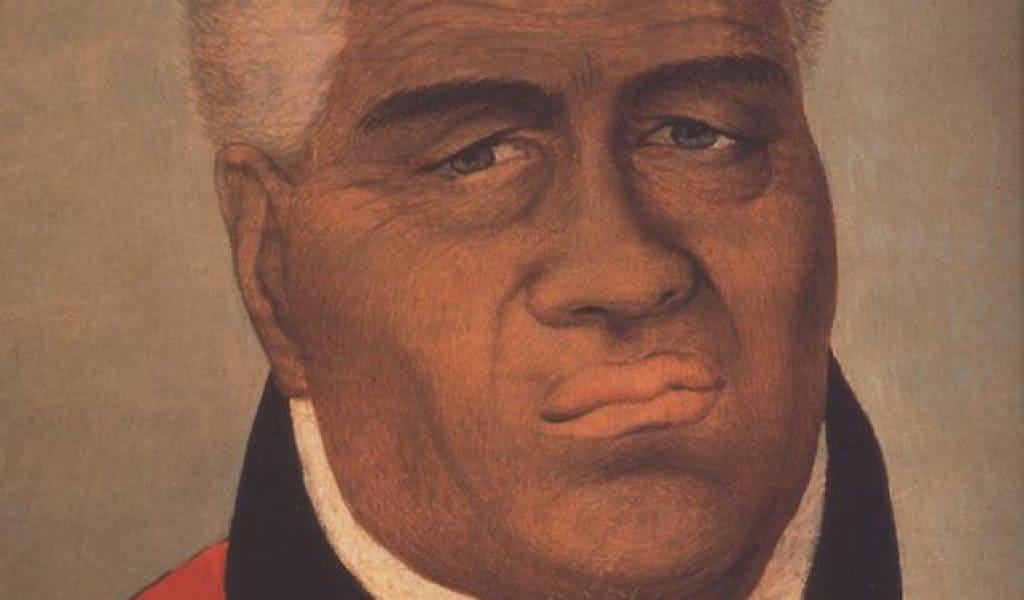King Kamehameha portrait