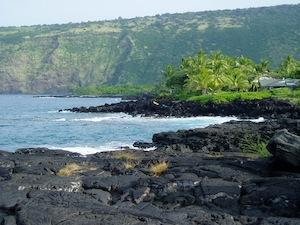 Is King Kamehameha buried  in a cave on the coast of Kona, Hawaii?