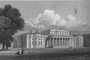 Shugborough Hall in 1829.