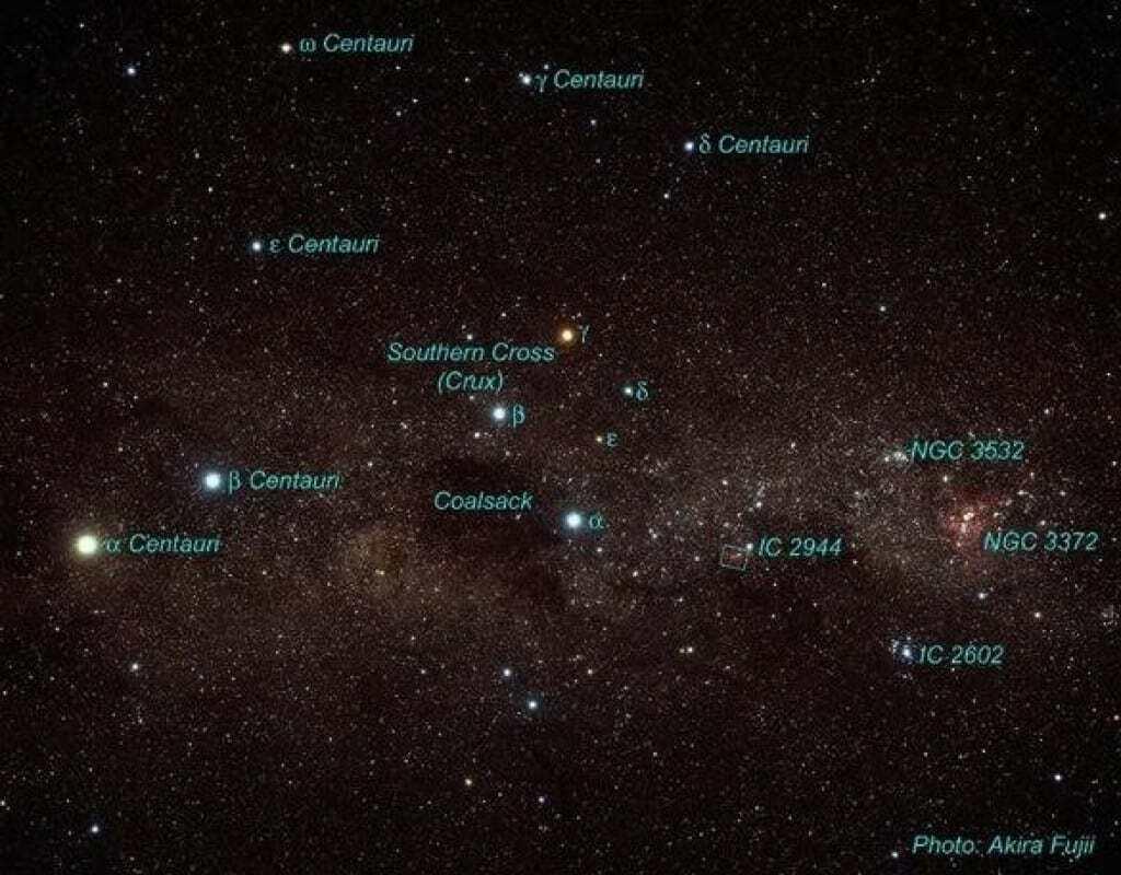 Were the taulas oriented to the Centaurus constellation? Image credit: Akira Fujii