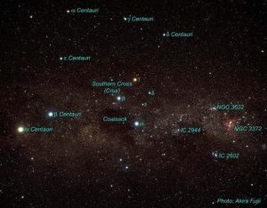 Were the taulas oriented to the Centaurus constellation? Image credit: Akira Fujii
