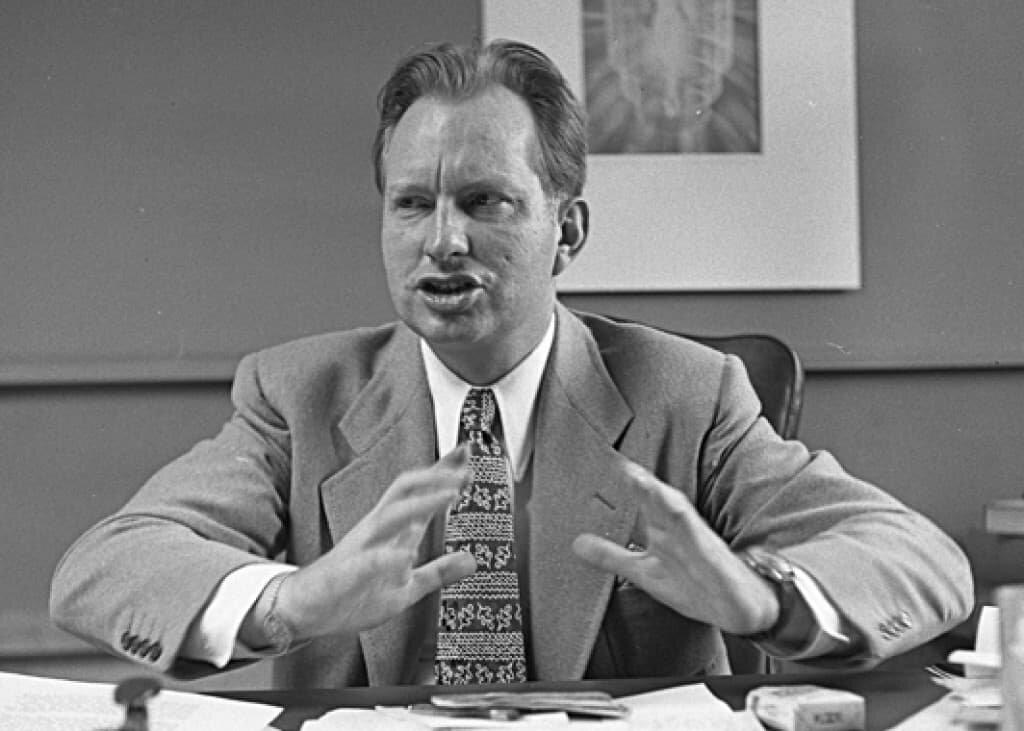 L. Ron Hubbard in Los Angeles, California, 1950.