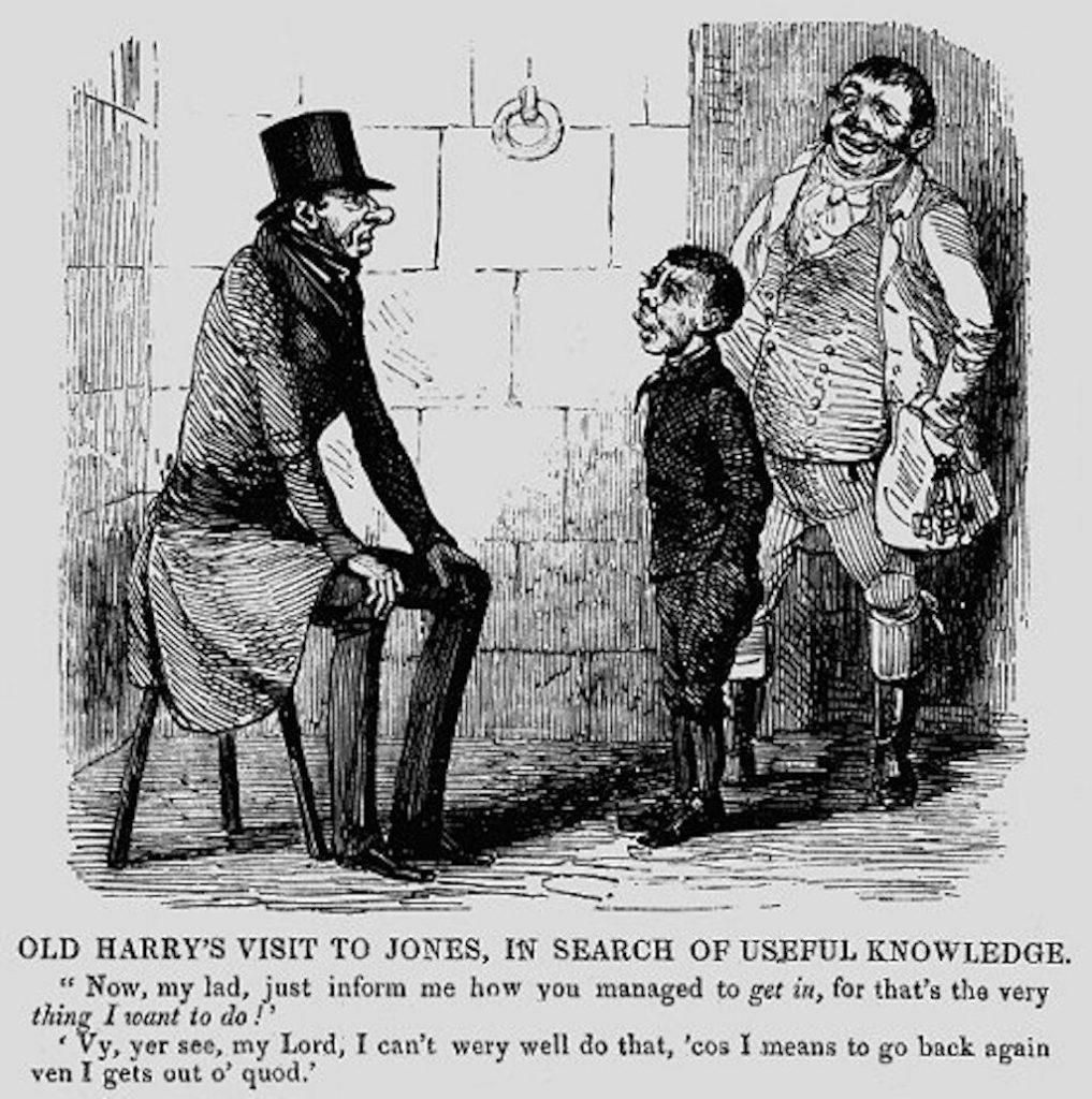 An illustration of Boy Jones published on 24 April 1841.