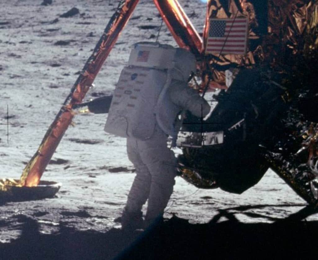 Was the moon landing a hoax.