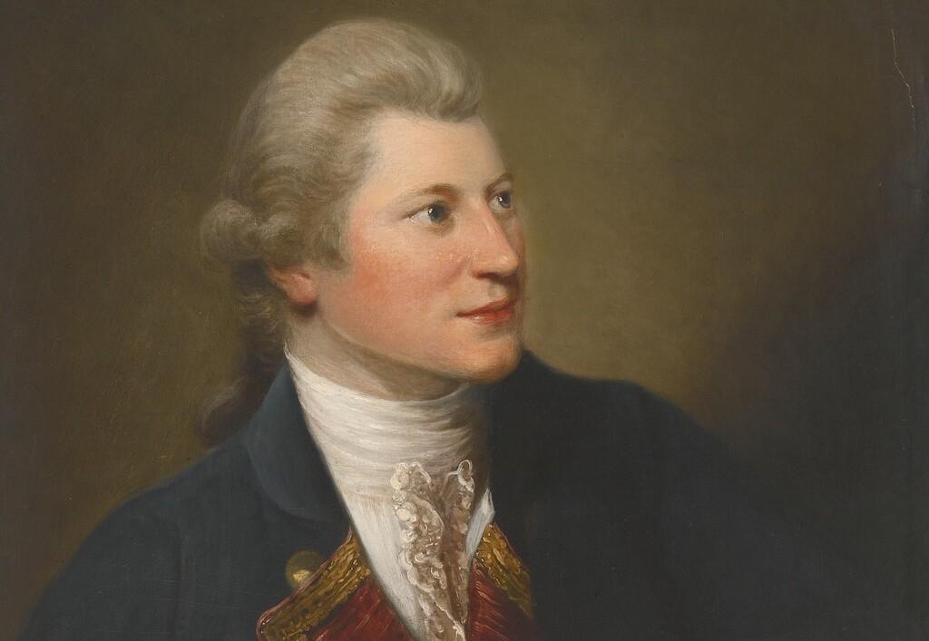 Portrait of James Macpherson by David Martin (1737-1798).