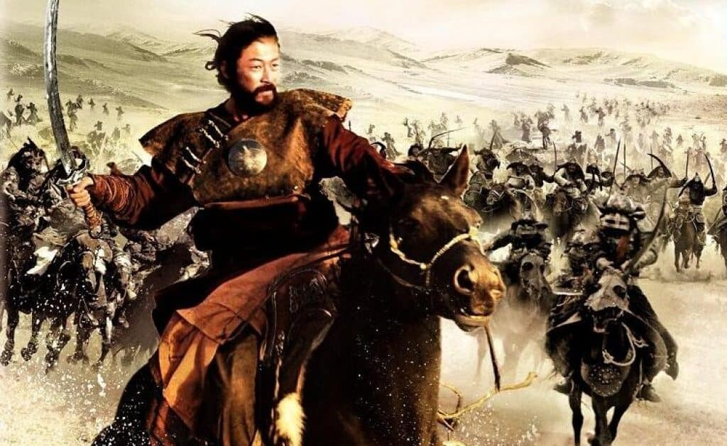Genghis Khan facts. He was the ruler of the largest Empire in the world.