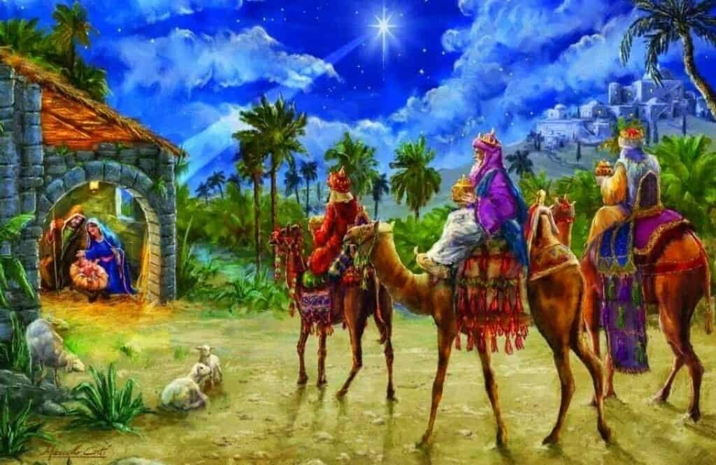 Three wise kings greet Jesus. What is the truth about them?