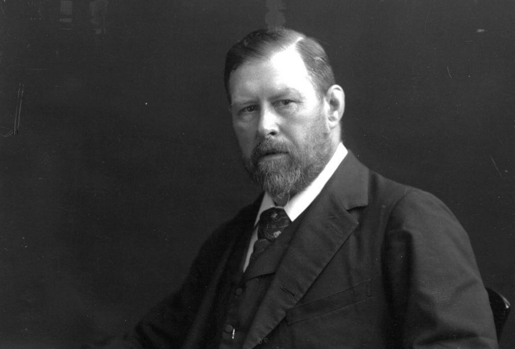 Bram Stoker in 1906.