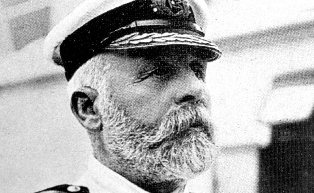 Did Captain Edward Smith play a role in the RMS Olympic and Titanic Conspiracy Theory?