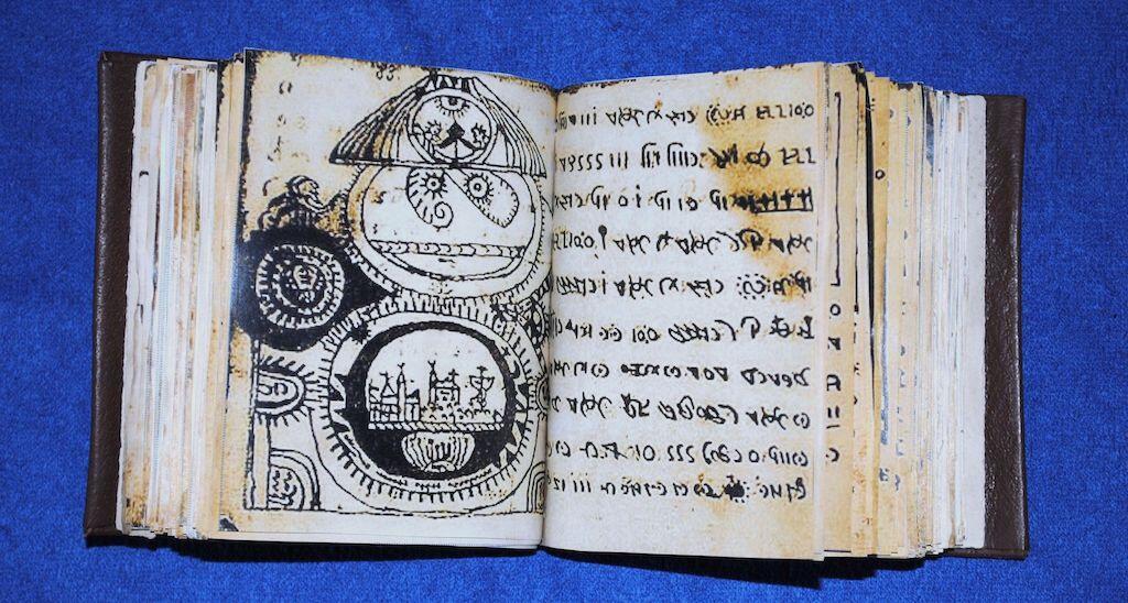 A copy of the Rohonc Codex.