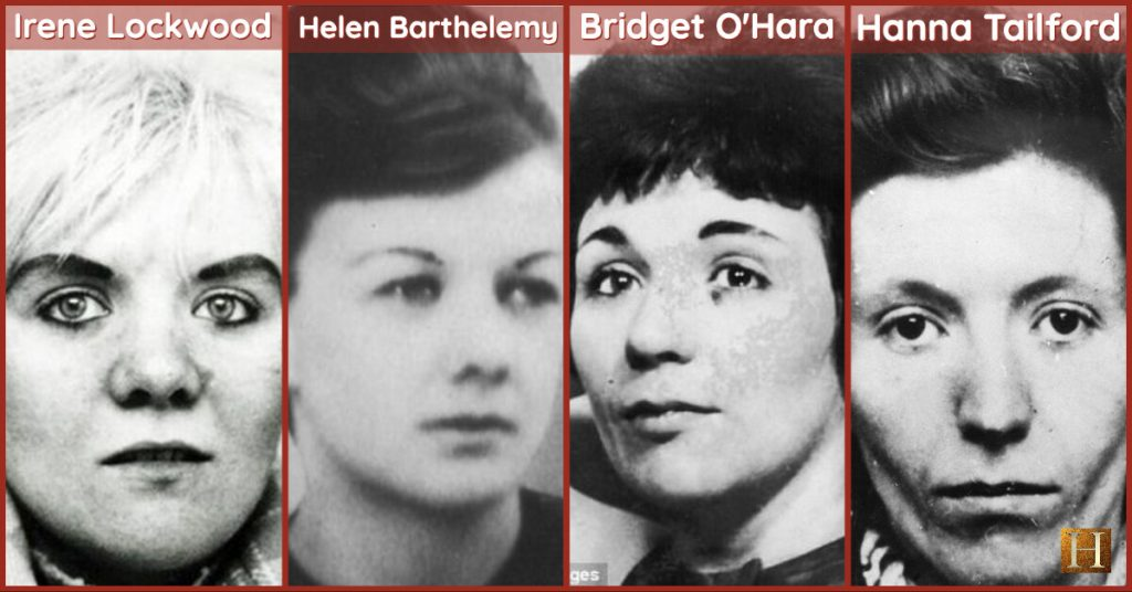 Some of the victims of the Hammersmith Nude Murders.
