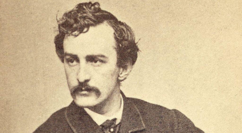 John Wilkes Booth portrait.