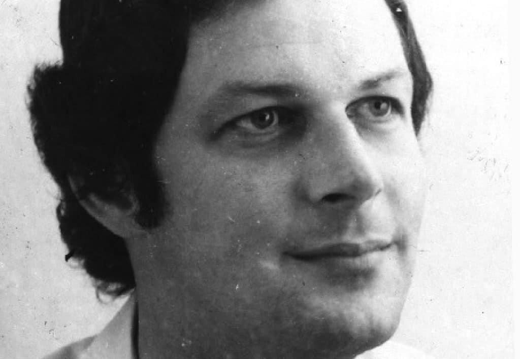 Newspaper file photo of Richard Haefner from the 1970s.