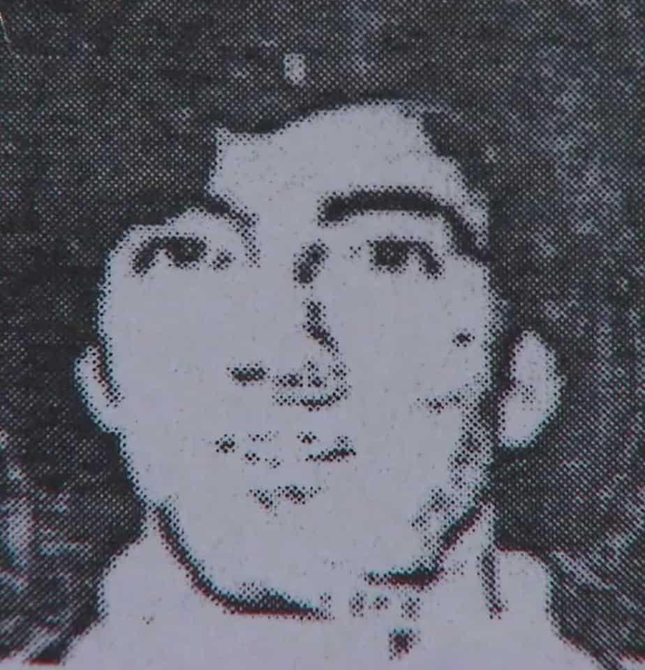 A 1996 Driver's License photo of Jeffrey Alan Lash
