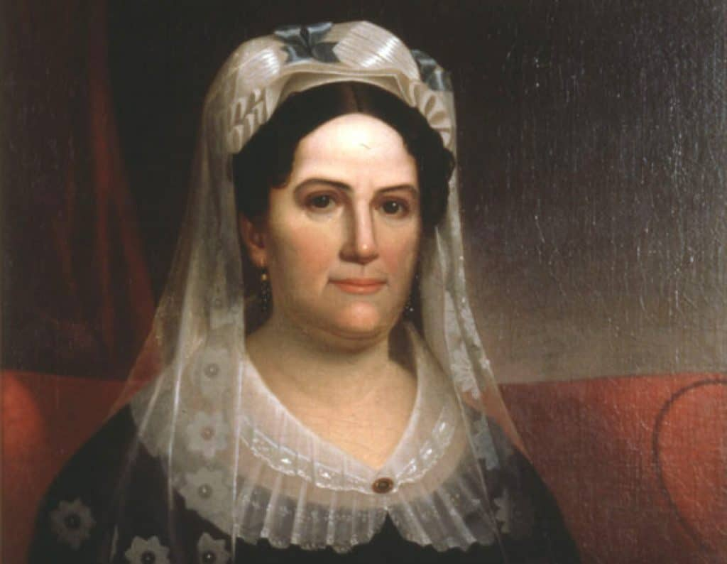Portrait of Rachel Jackson, wife of future U.S. President Andrew Jackson.