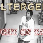 poltergeist caught on tape