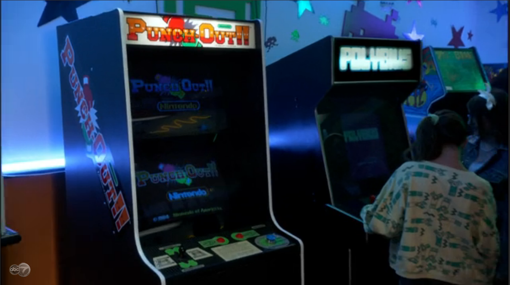 "Polybius in The Goldbergs ""The Age of Darkness""."