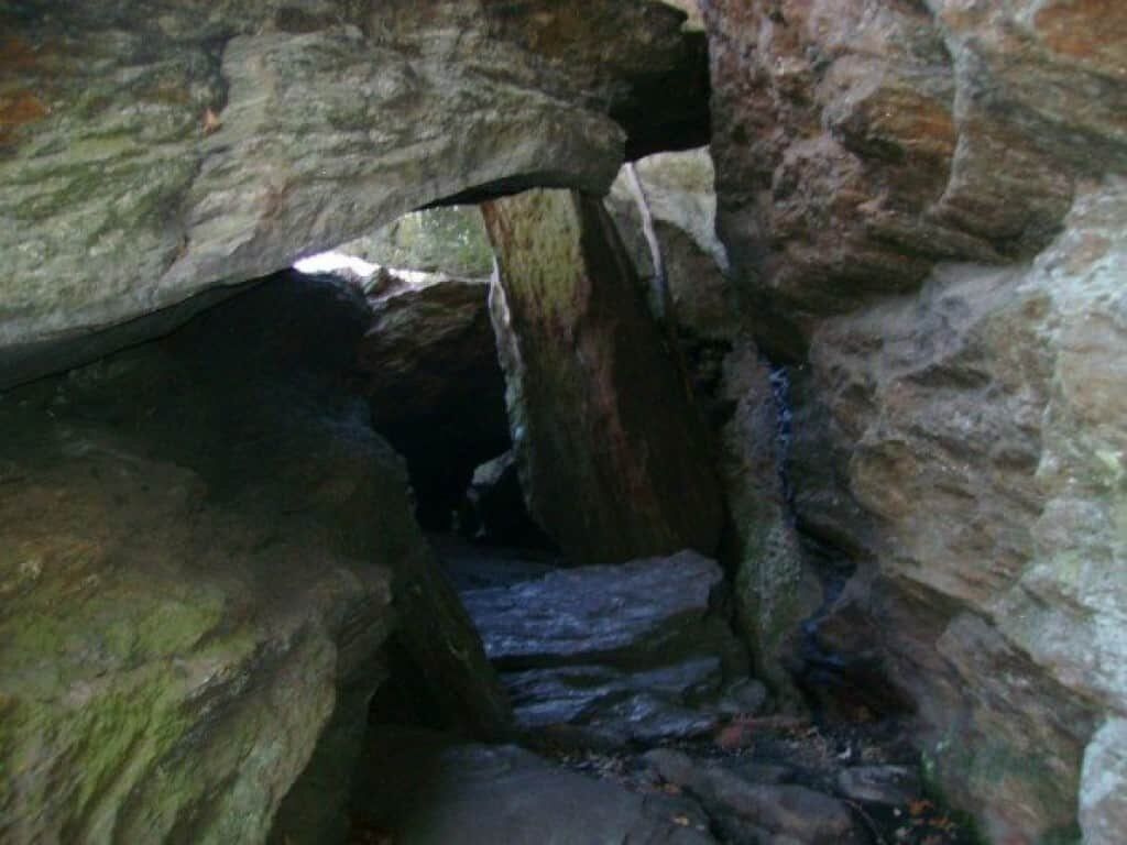 A look inside a Watertown, CT cave used by the Leatherman.