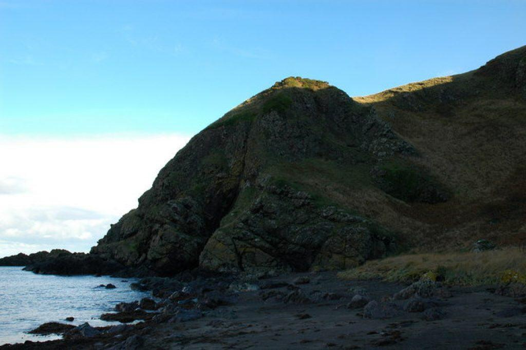 Port Balcreuchan and the Sawney Bean Cave.