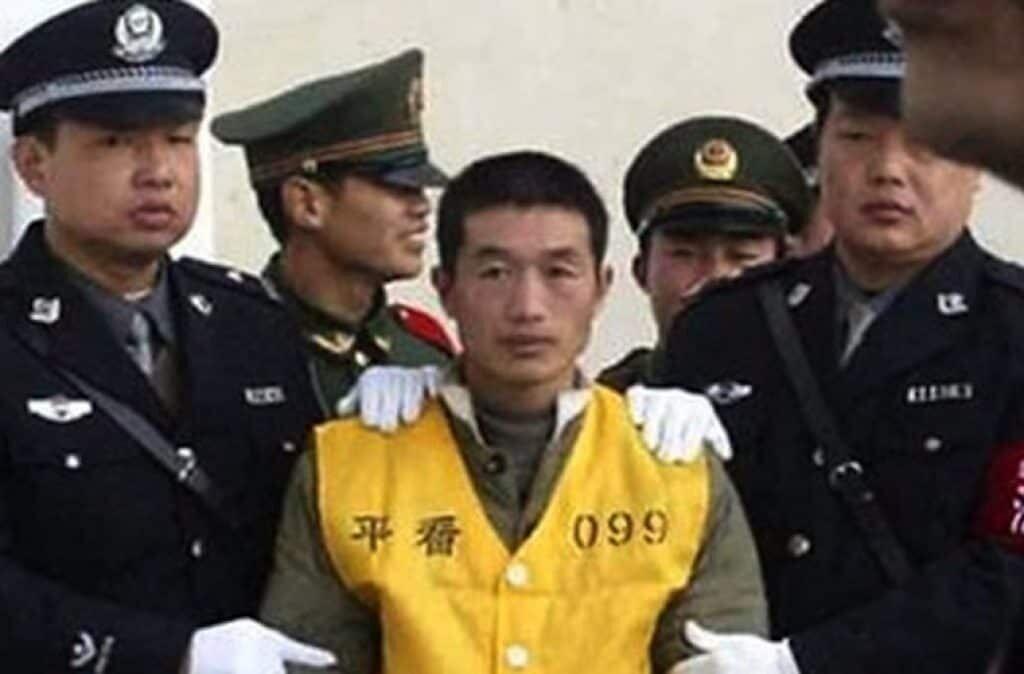 Serial killers Yang Xinhai.