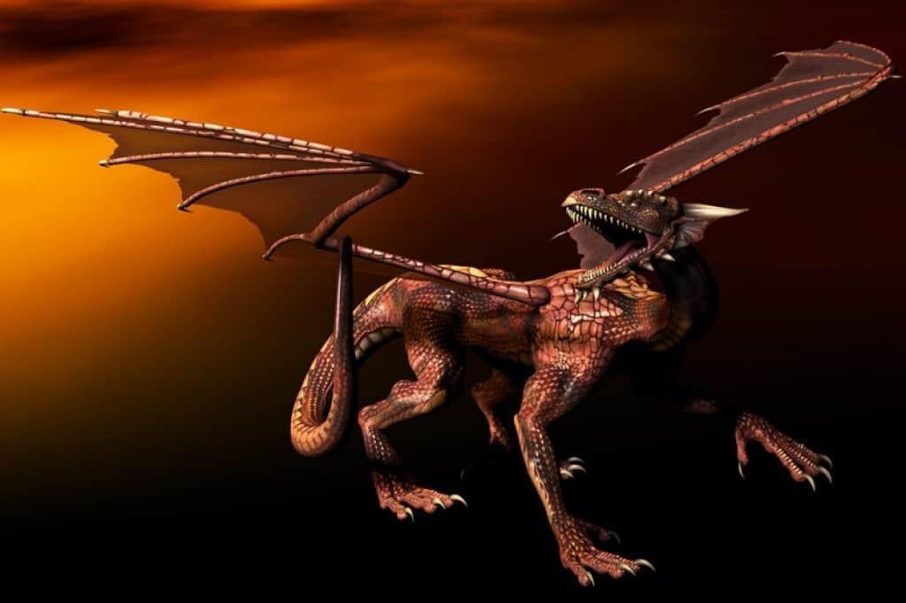 Smok wawel dragon