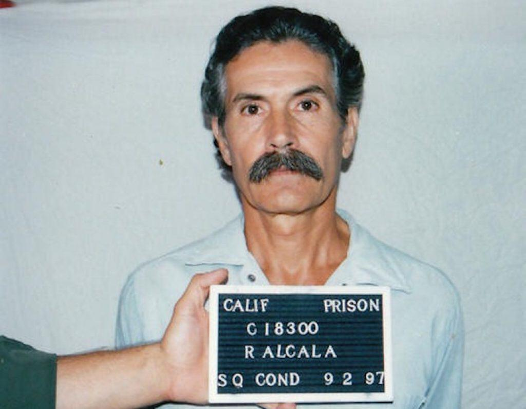 1997 prison mugshot of Alcala.
