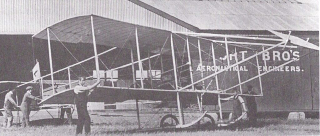 Cecil Grace flew this Short S.27 aircraft the day he vanished.