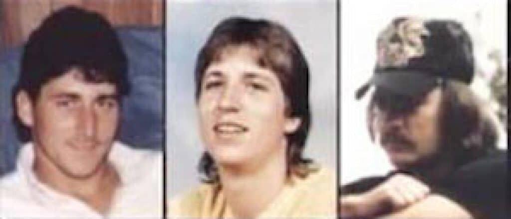 Billy Joe Neesmith, Keith Wilke, and Franklin Brantley of the Cassie Nicole.