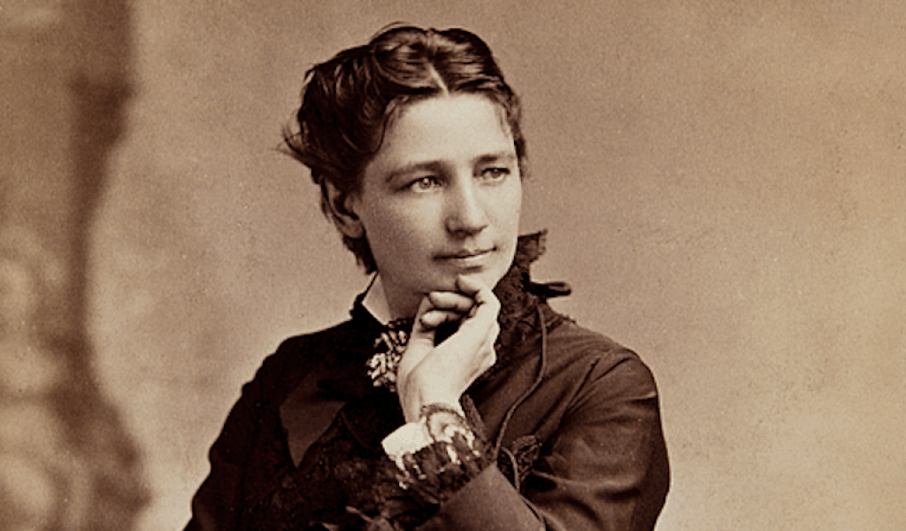 First female presidential nominee Victoria Woodhull, circa 1860s.