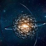 Illustration Tabby's Star alien megastructure