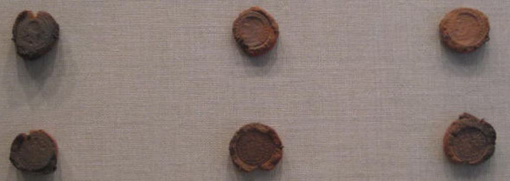 Roman coins were struck using a minting process, not cast, so these coin molds were created for forgery.