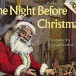 'twas the night before christmas book cover