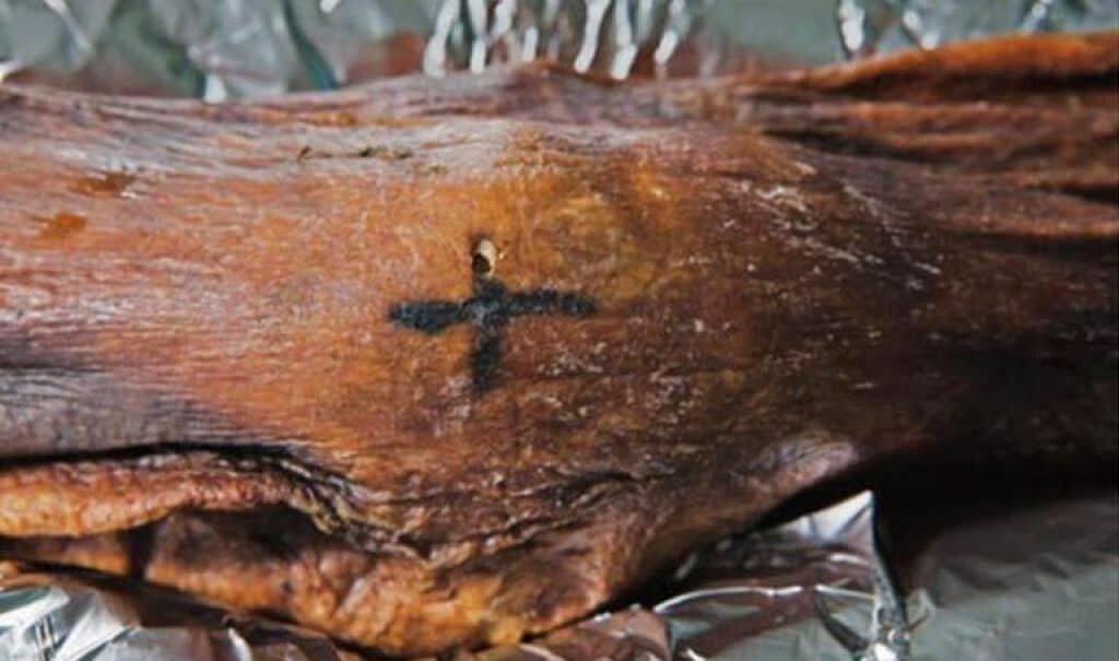 Ancient Tattoo Otzi.