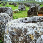 The Plain of Jars in Northern Laos