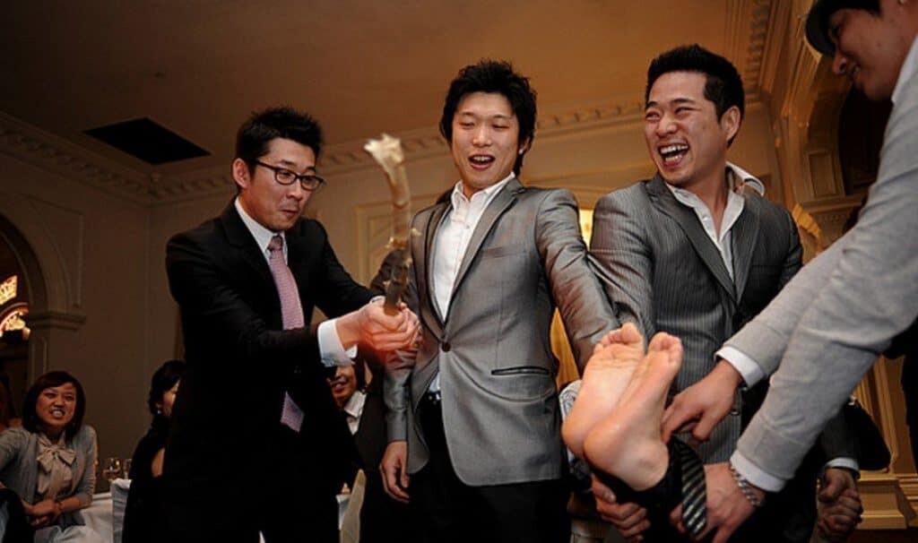Bizarre wedding rituals around the world.