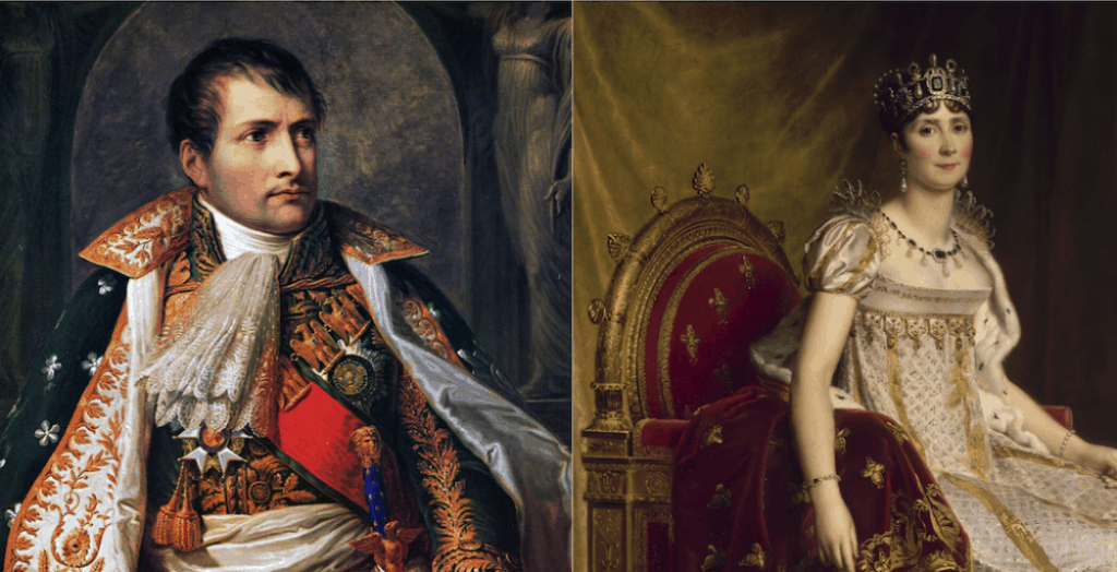 Napoleon Bonaparte had a strong sexual attraction to Josephine and may have preferred that she not bathe. Public domain.