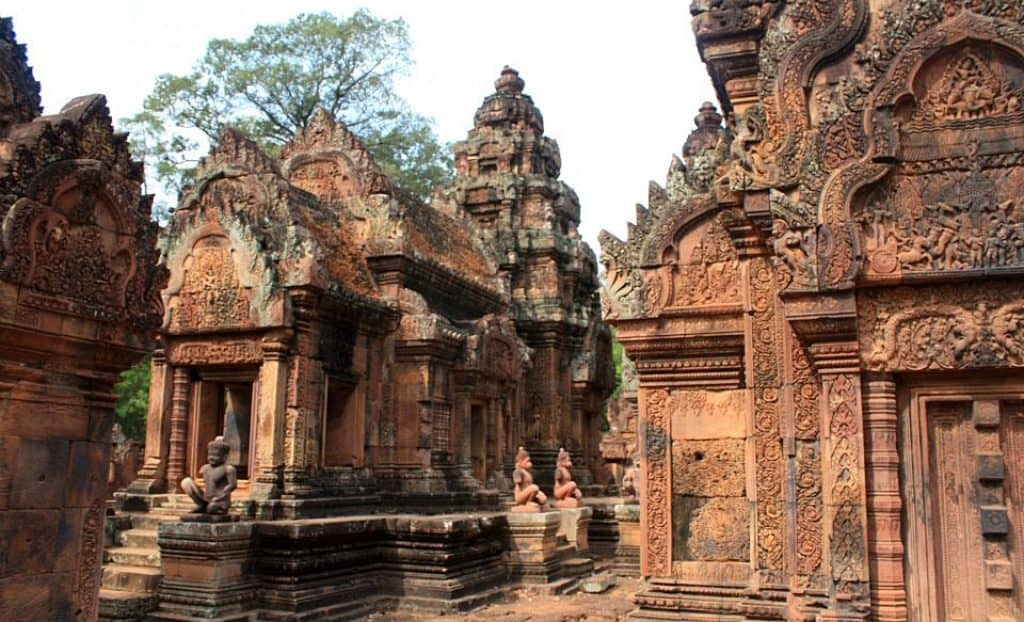 Banteay Srei temple, 10th century Angkor Wat