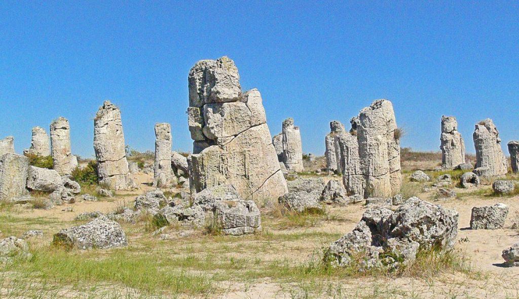 Pobiti Kamani stone forest