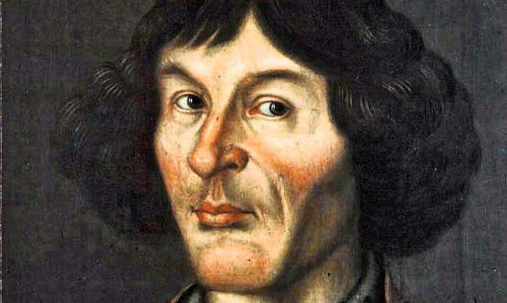 Painting of Copernicus from Town Hall, Torun, 1580, based on a self-portrait. Artist unknown, public domain.
