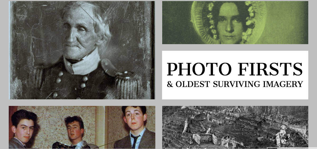 First Photograph and Other Milestone Images | Historic Mysteries