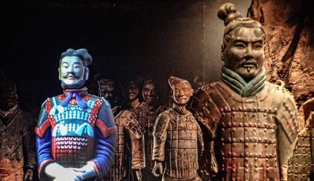 how were the terracotta soldiers made