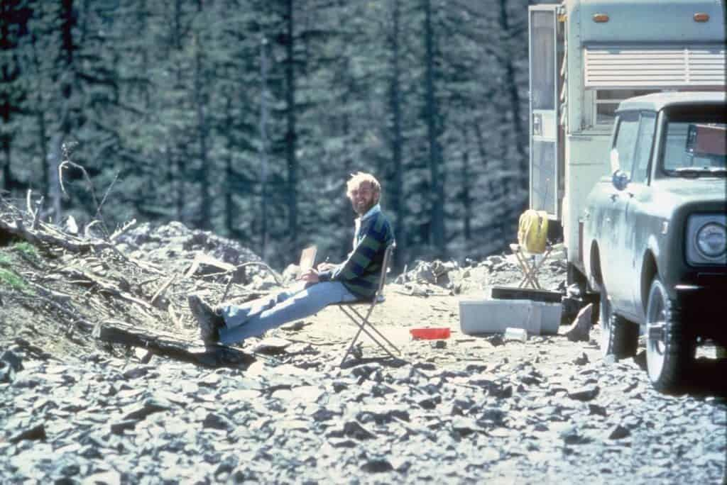 mount st helens eruption david johnson