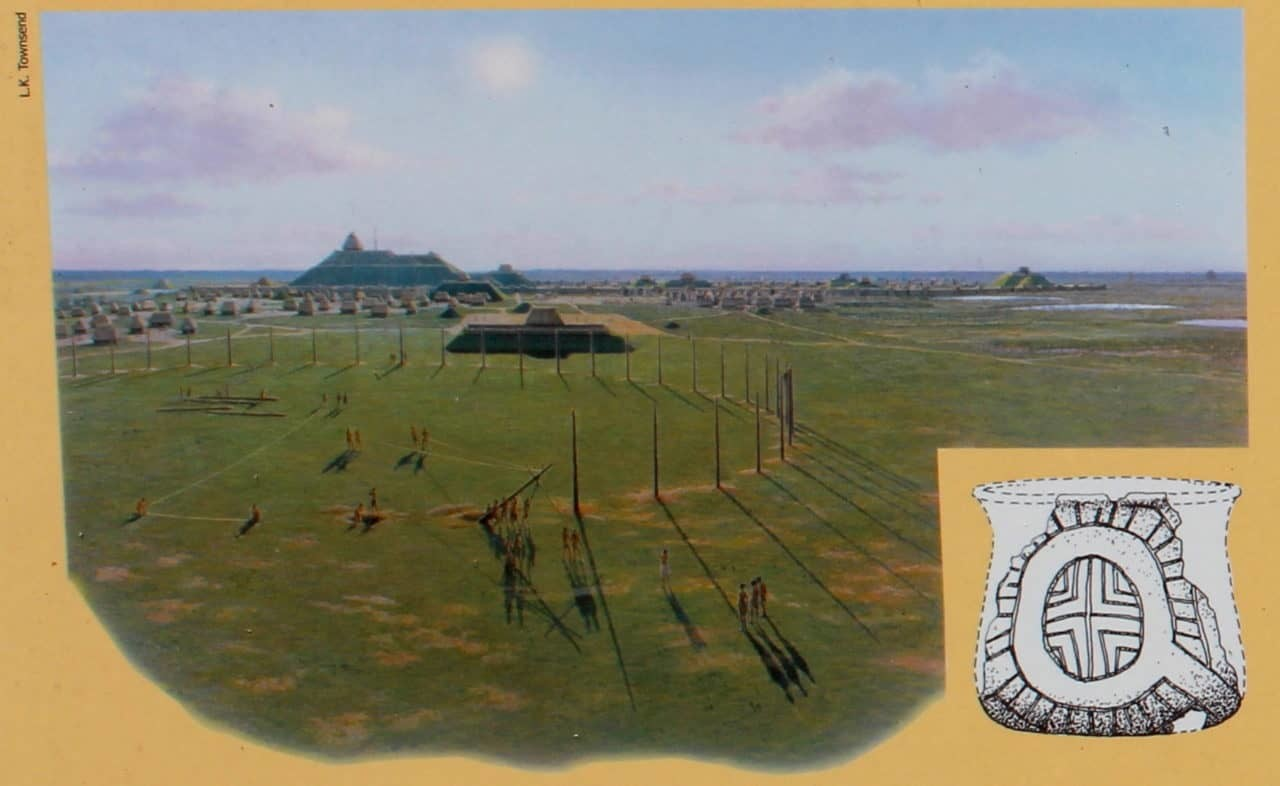 Woodhenges at Cahokia Mounds tracked the seasons.