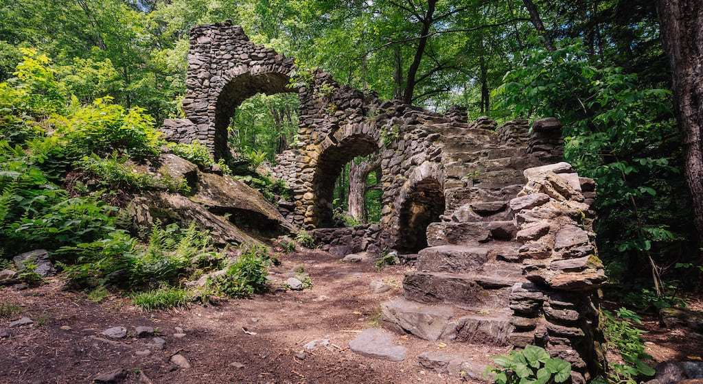 Mysterious Staircases in the Woods: Legends and History