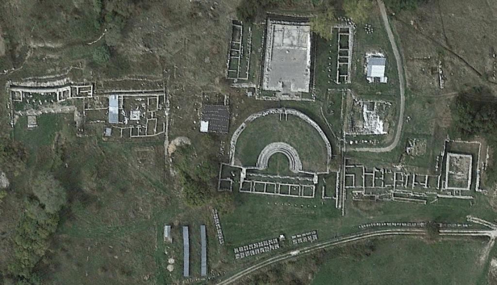 archaeological discoveries in Pietrabbondante sanctuary