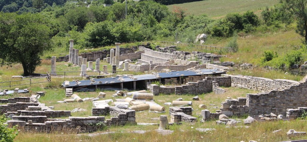 The domus publica is still undergoing archaeological excavations. Photo: Historic Mysteries.
