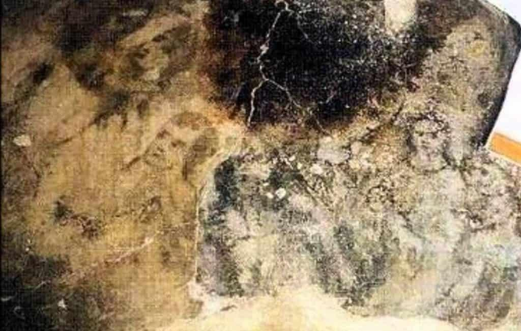 Images imprinted on the floor. Source: Youtube
